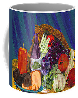 Wine Cornucopia Coffee Mug
