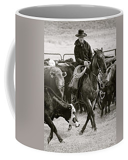 Wine Cup Cowboy Coffee Mug