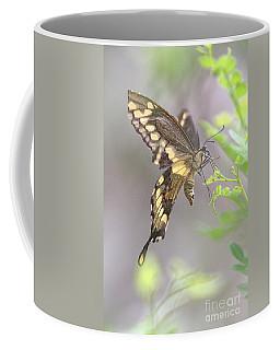 Winged Ballet Coffee Mug by Anne Rodkin