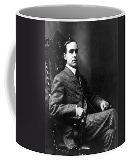 Coffee Mug featuring the photograph Winston Churchill - C 1900 by International  Images