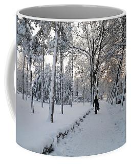Coffee Mug featuring the photograph Winter In Mako by Anna Ruzsan