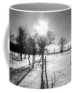 Winter Shadows Coffee Mug by Leanna Lomanski
