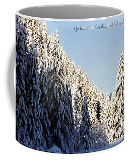 Winter Wonderland Austria Europe Coffee Mug