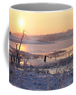 Coffee Mug featuring the photograph Winter's Morning by Elizabeth Winter