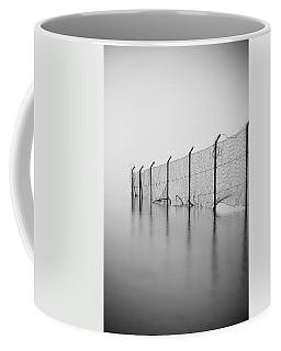 Wire Mesh Fence Coffee Mug