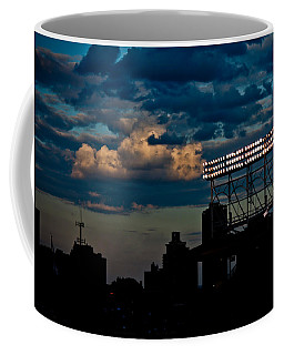 Wrigley Field Light Stand Coffee Mug