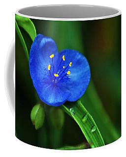Yellow Blue And Raindrops Coffee Mug