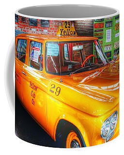 Yellow Cab No.29 Coffee Mug by Dan Stone