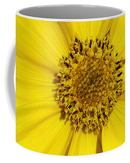 Yellow Flower Detail Coffee Mug