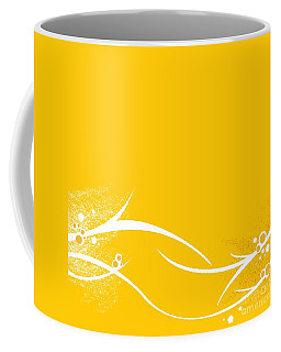 Yellow Twigs Coffee Mug