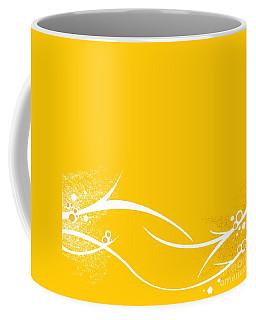 Yellow Twigs Coffee Mug