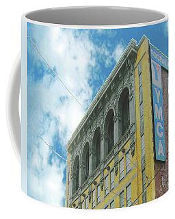 Coffee Mug featuring the photograph Ymca by Lizi Beard-Ward