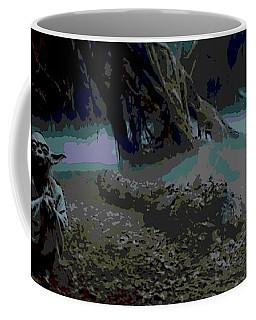 Yoda In Meditation Coffee Mug