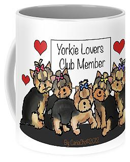 Yorkie Lovers Club Member Coffee Mug