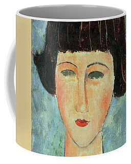 Young Brunette Coffee Mug