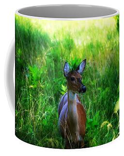 Young Deer Coffee Mug