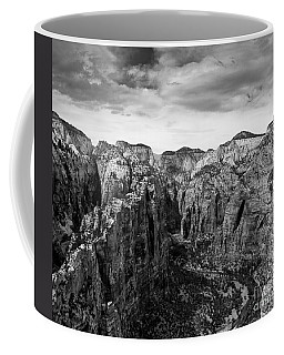 Zion National Park - View From Angels Landing Coffee Mug
