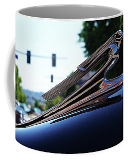 1941 Cheverolet Hood Ornament Coffee Mug by Ansel Price