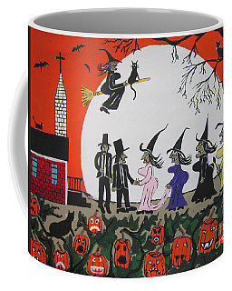 A Halloween Wedding Coffee Mug by Jeffrey Koss