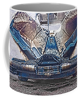 Asphalt Paver Coffee Mug by Terri Waters