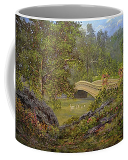 Bow Bridge Central Park Coffee Mug