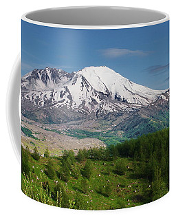 Castle Lake And Mt. St. Helens Coffee Mug
