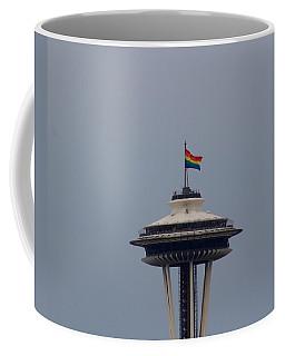 Celebrates Gay Pride  Coffee Mug