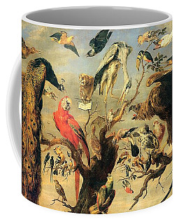 Concert Of Birds Coffee Mug by Pg Reproductions