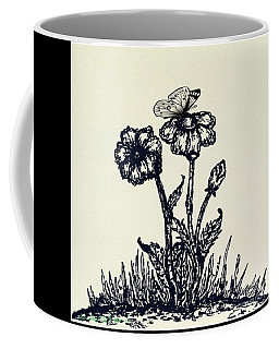 Daisies Daisies  Coffee Mug by MaryLee Parker
