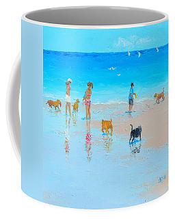 Dog Beach Day Coffee Mug