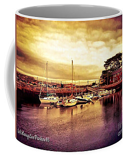 Down At The Dock Coffee Mug