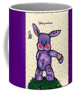 Epilepsy Awareness Bunny Coffee Mug