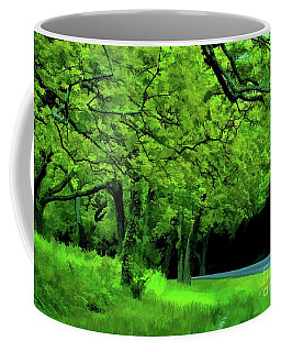 Coffee Mug featuring the photograph  Faire Du Velo by Diana Mary Sharpton