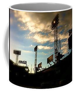 Fenway Lights Fenway Park David Pucciarelli  Coffee Mug