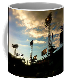 Fenway Lights Fenway Park David Pucciarelli  Coffee Mug