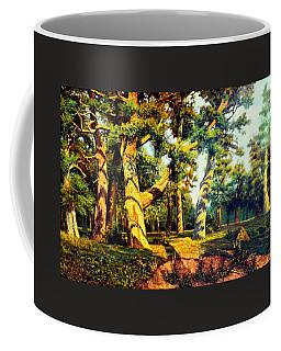 Green Summer-the Oak Forest Coffee Mug by Henryk Gorecki