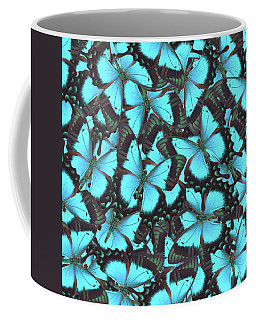Green Swallowtail Butterfly Coffee Mug