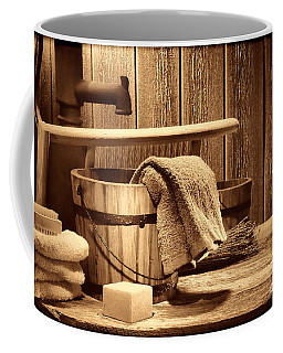Laundry At The Ranch Coffee Mug by American West Legend By Olivier Le Queinec