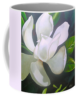 Magnolia Delight Painting Coffee Mug