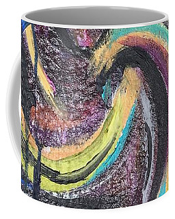 Coffee Mug featuring the painting ... Or Dare by Rebecca Davidson