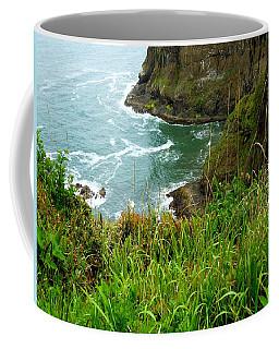 Oregon's Seaside Cliffs In Springtime Coffee Mug