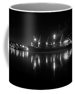 Point Lights Bw Coffee Mug