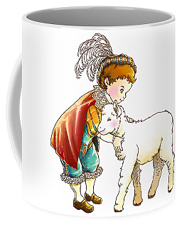 Prince Richard And His New Friend Coffee Mug by Reynold Jay