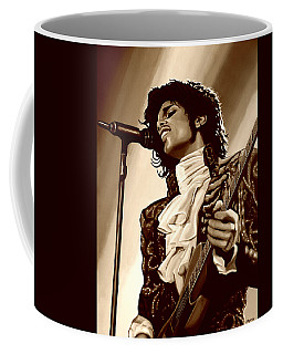 Prince The Artist Coffee Mug by Paul Meijering