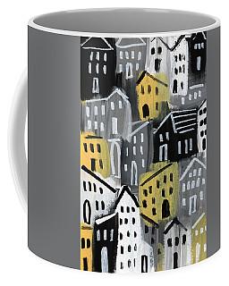 Rainy Day - Expressionist Art Coffee Mug