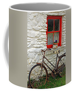 Red Window Coffee Mug