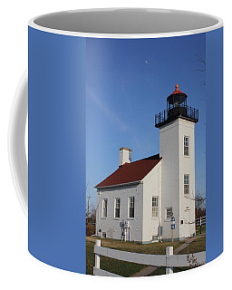 Sand Point Lighthouse Escanaba Coffee Mug