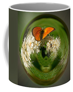 Coffee Mug featuring the photograph  Scarce Copper 3 by Jouko Lehto