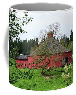 Spring At The Round Barn Coffee Mug