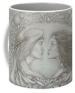 Spring Lovers With Snowdrops Coffee Mug by Rita Fetisov